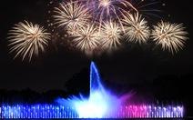 Công viên văn hóa Đầm Sen ra mắt nhạc nước chào năm mới