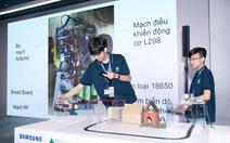 Samsung ươm mầm tài năng trẻ với Solve For Tomorrow