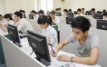 Dự kiến thi tất cả kỹ năng ngoại ngữ trên máy tính