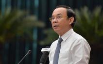 Bí thư Thành ủy TP.HCM Nguyễn Văn Nên: 'Dịch COVID-19 trở lại nhưng đang tích cực xử lý'