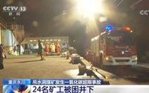 Rò rỉ khí độc tại mỏ than đá Trung Quốc, ít nhất 18 người chết