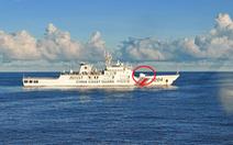 Tàu hải cảnh lớn của Trung Quốc ngang nhiên xâm phạm trên Biển Đông