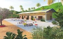 Ngôi trường cổ tích ở Tắk Pổ