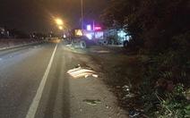 Nam thanh niên chết bên lề quốc lộ cùng với chiếc xe máy 'độ'