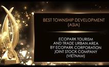 Ecopark được vinh danh khu đô thị tốt nhất châu Á