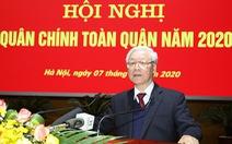 Tổng bí thư, Chủ tịch nước Nguyễn Phú Trọng: Quân đội tuyệt đối không được chủ quan, thỏa mãn