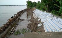 Đồng Tháp: Cử tri kiến nghị đóng mỏ cát khu vực sạt lở