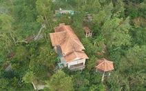Nhà xây đồ sộ không phép trên đất lâm nghiệp ở Ghềnh Ráng nhưng địa phương 'không biết'
