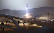 Elon Musk tung ảnh tàu phi hành Starship trước giờ phóng thử