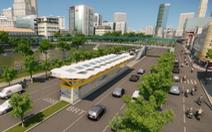 TP.HCM đề xuất giảm vốn tuyến buýt nhanh Võ Văn Kiệt - Mai Chí Thọ