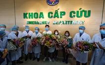 Ba bệnh nhân Vĩnh Phúc nhiễm nCoV được xuất viện, xe đưa về tận nhà