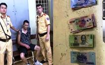 Một người Anh cầm dao cướp siêu thị ở trung tâm Sài Gòn