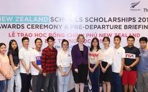 New Zealand cấp 40 suất học bổng trị giá 4,8 tỉ đồng cho học sinh Việt