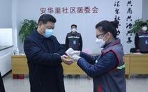 Chủ tịch Tập Cận Bình thị sát bệnh viện phòng chống corona ở Bắc Kinh