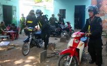 Đồng Nai: Triệt phá tụ điểm 'độ' xe máy và bán ma túy