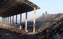 Bãi rác cháy liên tiếp 2 ngày, dân kêu cứu vì khói bụi gây ô nhiễm