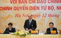 Thủ tướng: Làm tốt chính phủ điện tử giúp ngăn ngừa corona