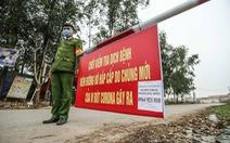 Vĩnh Phúc cách ly xã Sơn Lôi, chăm sóc cẩn thận bé 3 tháng tuổi bị nhiễm