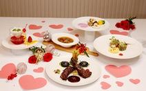Ẩm thực 'Valentine Day 2020' tại một số khách sạn Saigontourist Group