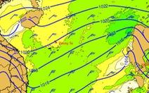 Ảnh hưởng không khí lạnh, biển động mạnh, sóng cao 2-4m