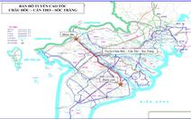 Lập dự án xây dựng 2 tuyến cao tốc ở miền Tây hơn 67.400 tỉ đồng