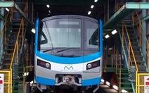 Hai đoàn tàu metro số 1 sẽ nhập về giữa năm nay