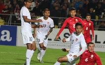 FIFA nghi ngờ tuyển Myanmar bán độ ở vòng loại World Cup 2022