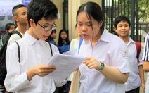 Hà Nội thi tuyển lớp 10 đầu tháng 6-2020