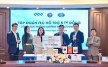Tập đoàn FLC trao 5 tỉ đồng hỗ trợ công tác phòng chống dịch bệnh COVID-19 của Bộ Y tế