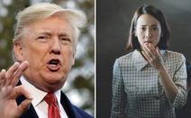 Ông Trump giễu nhại việc Parasite đoạt giải Oscar: 'Chuyện quái gì vậy?'