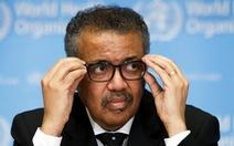Tổng giám đốc WHO: 'Cánh cửa cơ hội kiềm chế COVID-19 đang khép lại'