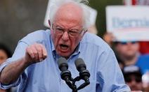 Ông Sanders phản ứng mạnh trước tin Matxcơva đang giúp mình tranh cử