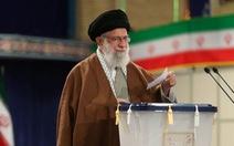 Đại giáo chủ Iran: 'Kẻ thù' dùng virus corona phá hoại bầu cử