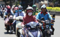 TP.HCM buổi trưa nắng nóng, Hà Nội chất lượng không khí xấu