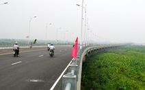 Hà Nội hạn chế qua cầu Vĩnh Tuy để sửa khe co giãn