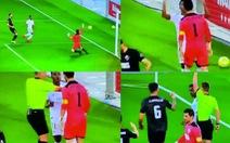 Video: 'Sao trẻ' R.M bị đuổi vì ăn mừng kiểu 'cười vào mặt' đối thủ