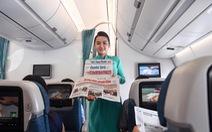 Tất cả máy bay từ Hàn Quốc về Việt Nam đều được Vietnam Airlines khử trùng