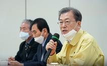 Tổng thống Hàn Quốc tới Daegu, cử thủ tướng ở lại chống dịch