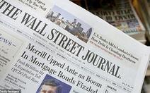 Bộ Ngoại giao Trung Quốc: 'Báo Wall Street Journal đã nhận sai'