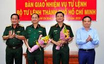 Phó tư lệnh Quân khu 7 giữ chức tư lệnh Bộ Tư lệnh TP.HCM