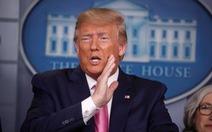 Tổng thống Trump chia sẻ 'nỗi ám ảnh' giúp ông đối phó COVID-19