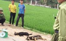 Nghi trộm chó, một người bị dân vây đánh chết, đốt xe máy