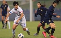 Thua Đài Loan, tuyển nữ Thái Lan hẹp cửa dự Olympic 2020