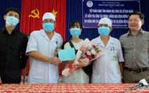 Nữ nhân viên lễ tân bị lây nhiễm virus corona khỏi bệnh, được xuất viện