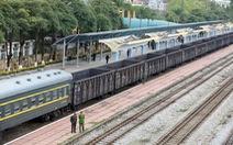Dừng chạy tàu khách liên vận giữa Việt Nam và Trung Quốc