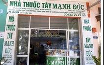 Nhà thuốc bị phạt 20 triệu đồng vì găm gần 2.000 khẩu trang