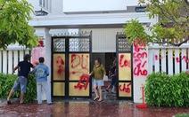 Truy xét nhóm người tạt sơn, dầu nhớt nhà giám thị trại giam Bộ Công an