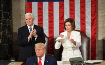 Chủ tịch Hạ viện Mỹ xé bài phát biểu của ông Trump