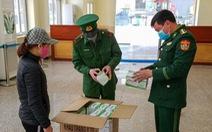 Xuất khẩu gần 4 triệu chiếc khẩu trang sang Trung Quốc