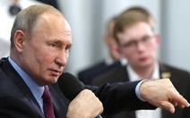 Ông Putin: Tôi không sửa hiến pháp để kéo dài quyền lực